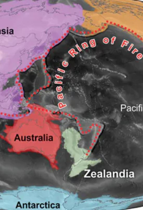 Zealandia: el inacabado resurgir de un continente hundido